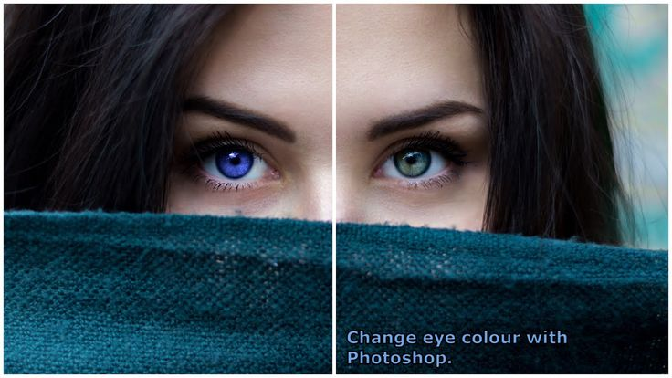How to change eye colour with Photoshop