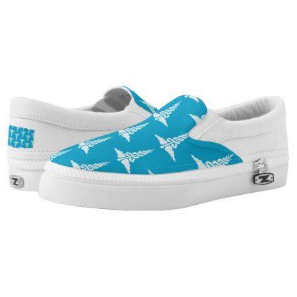 Cute nurse pattern work shoes - nursing nurse nurses medical diy cyo personalize gift idea