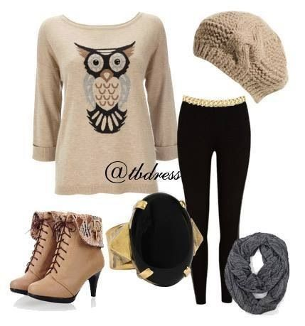 I want this! Owl too cute!