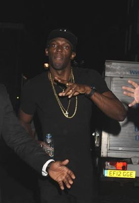 Celebrity FuseGH: Kasi who? Usain Bolt parties his heart out as he t...