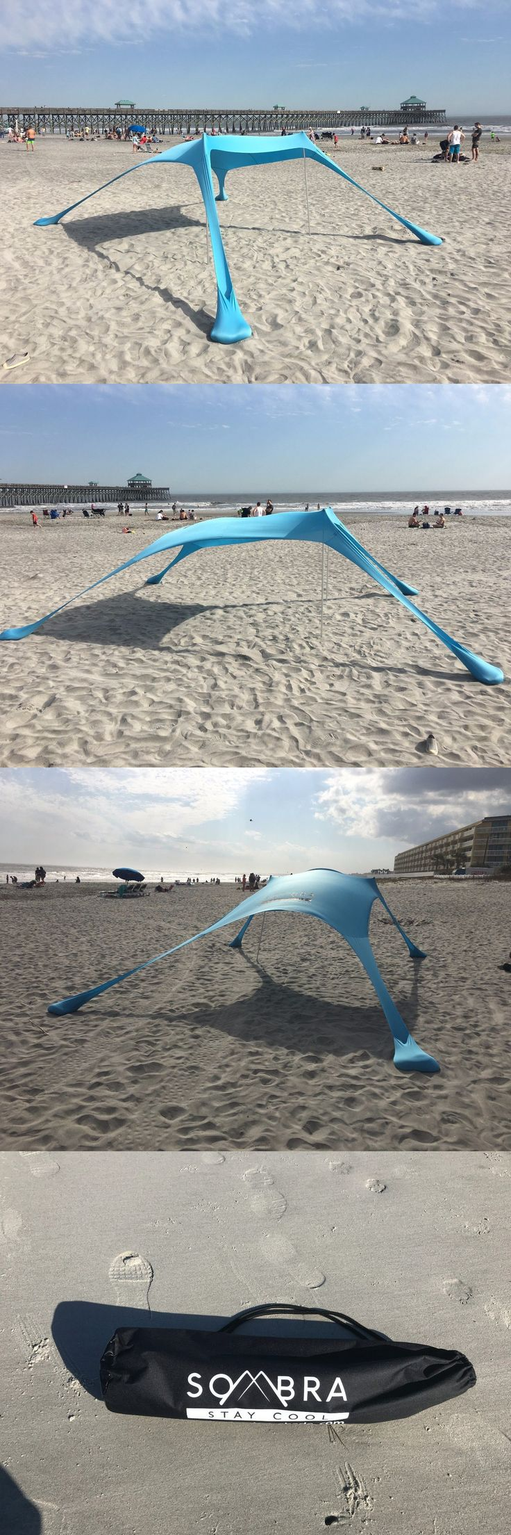 Other Tents and Canopies 179019: Beach Sun Shade Tent Unique Design Small Light Portable Uv Protection Ultralight -> BUY IT NOW ONLY: $132 on eBay!
