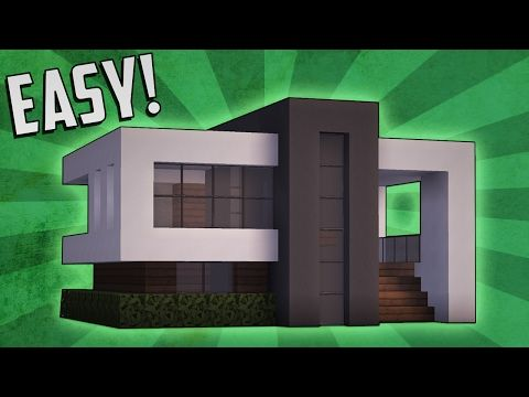 5 Easy Steps To Make A Minecraft Modern House YouTube
