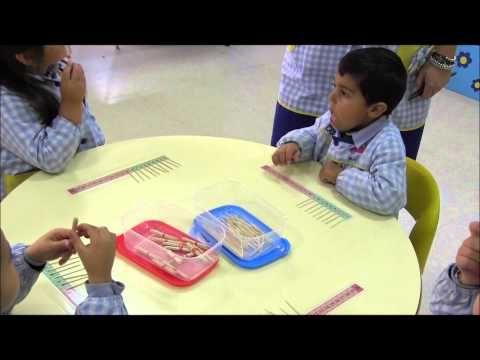 Iniciación Método ABN - 4 años A - Colegio Lar - curso 12/13.wmv - YouTube
