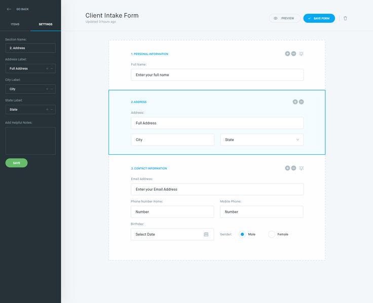 Más de 25 ideas fantásticas sobre Web Form Builder en Pinterest - emergency contact forms