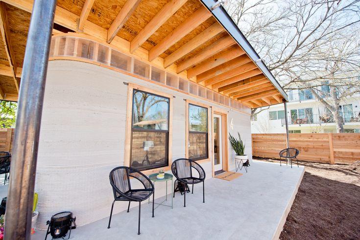 Diese Häuser können innerhalb von 24 Stunden mit dem 3D