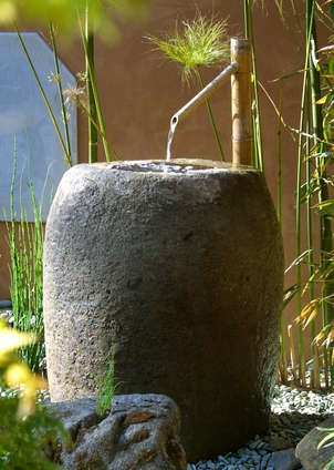 FountainWater Fountain, The Gardens, Water Features, Front Yards, Japanese Gardens, Yards Design, Landscapes Design, Asian Landscape, Japan Gardens