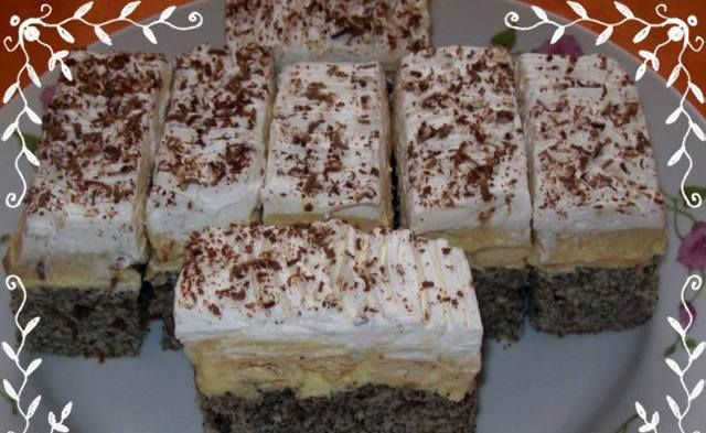 Csodálatos kekszes-mákos sütemény – én is elaléltam tőle :)