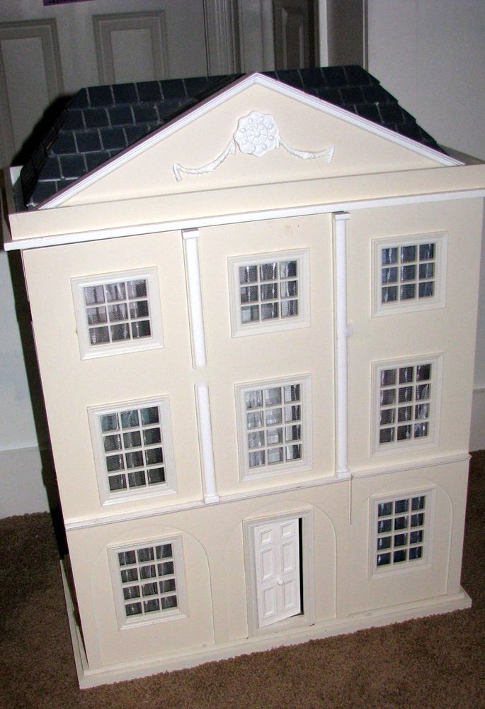 Rare Retired Pottery Barn Dollhouse With Pottery Barn