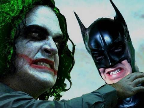 Batman Parody:  The Dark Knight is Confused.  Key of Awesome << This is HILARIOUS!!!