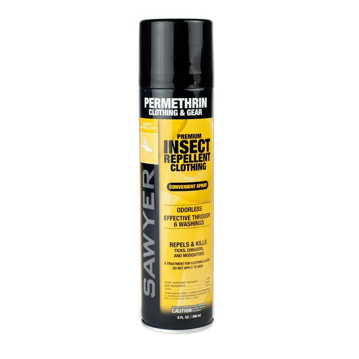 SAWYER® Permethrin: Clothing & Gear Insect Repellent, 9oz Aerosol