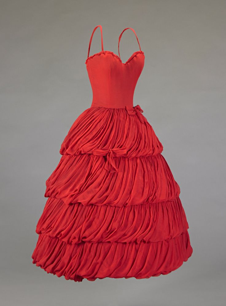 omgthatdress:  Dress Christian Dior, 1956 The Indianapolis Museum of Art