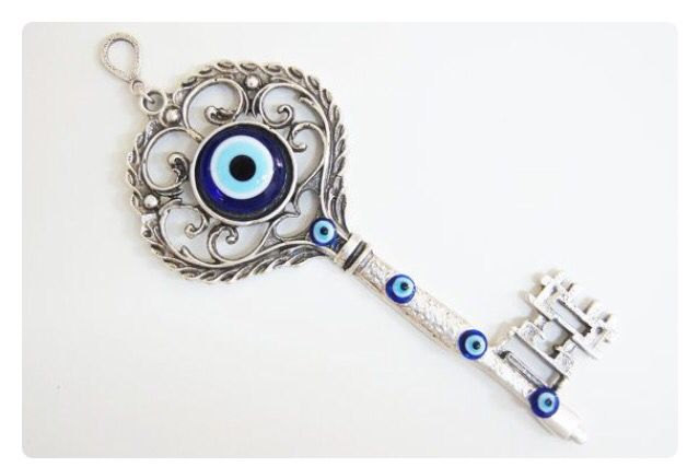 Evil eye tattoo idea