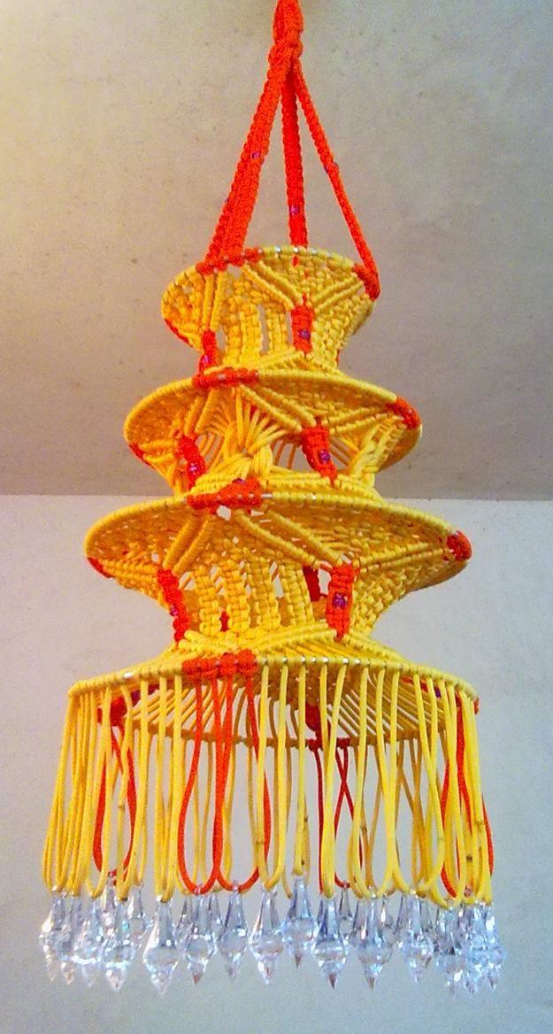 Macrame decorative Lantern - Home & Lifestyle
