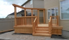 Backyard decks and patios are a great addition to any home in Ottawa.  http://novesco.ca/decks-ottawa/
