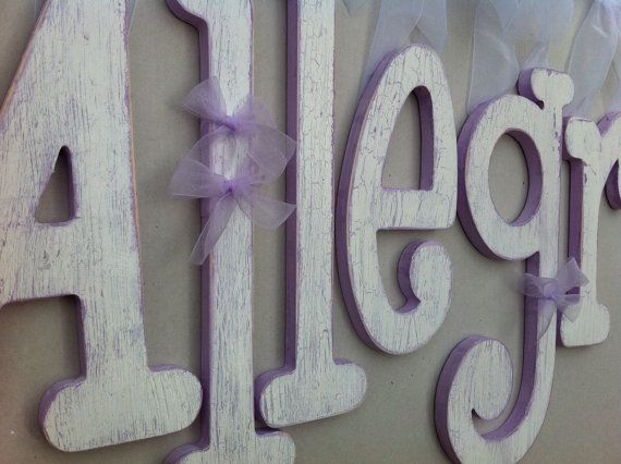 Custom Hand Painted Wooden Letters: 10+ Handpicked Ideas