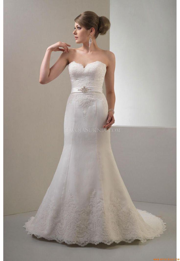 Buy Elegant Sweetheart Sheath Court Train Unique Simple Organza Wedding Dress At Cheap Price