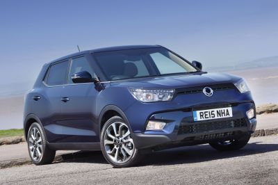 SSANGYONG TIVOLI LAUNCHES IN THE UK FROM JUST £159/MONTH PCP*