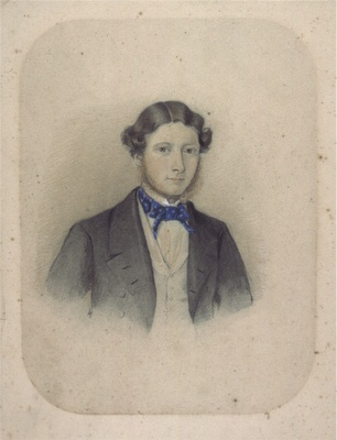1860s Watercolour attributed to Alfred Bock