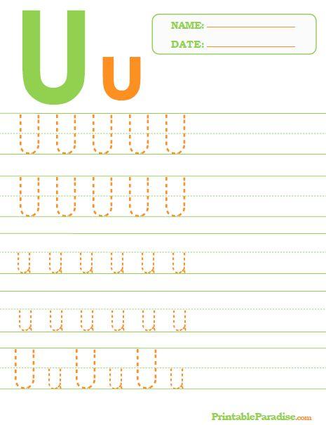 26 besten Letter Tracing Worksheets Bilder auf Pinterest ...