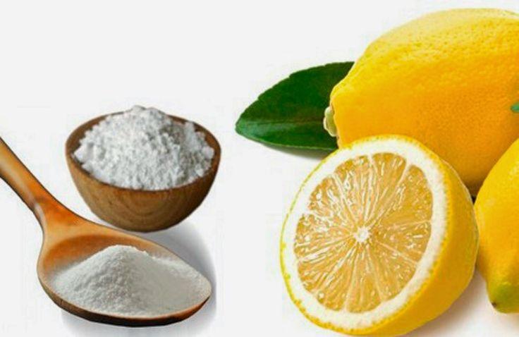 la santé pour tous : recette puissante :Le citron et le bicarbonate de ...
