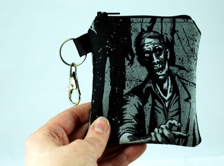 Coin Purse full of Zombies & Brains!