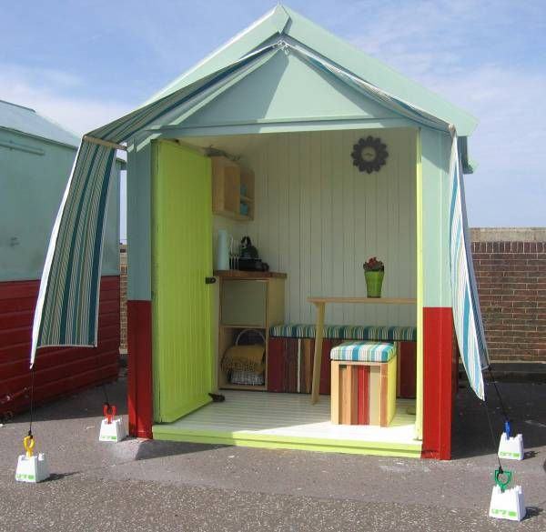 Kitchen Design Brighton Uk: 57 Best Images About Beach Hut Interiors On Pinterest