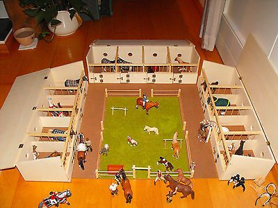 Bild 9 Von 9 Pferdestall Spielzeug Pferdeboxen Stalle