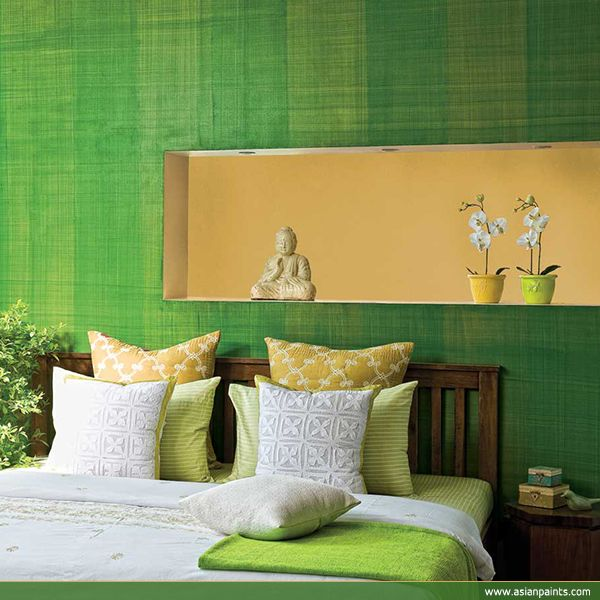 #Refreshing #green #decor #Bedroom #texture #Decorgasm