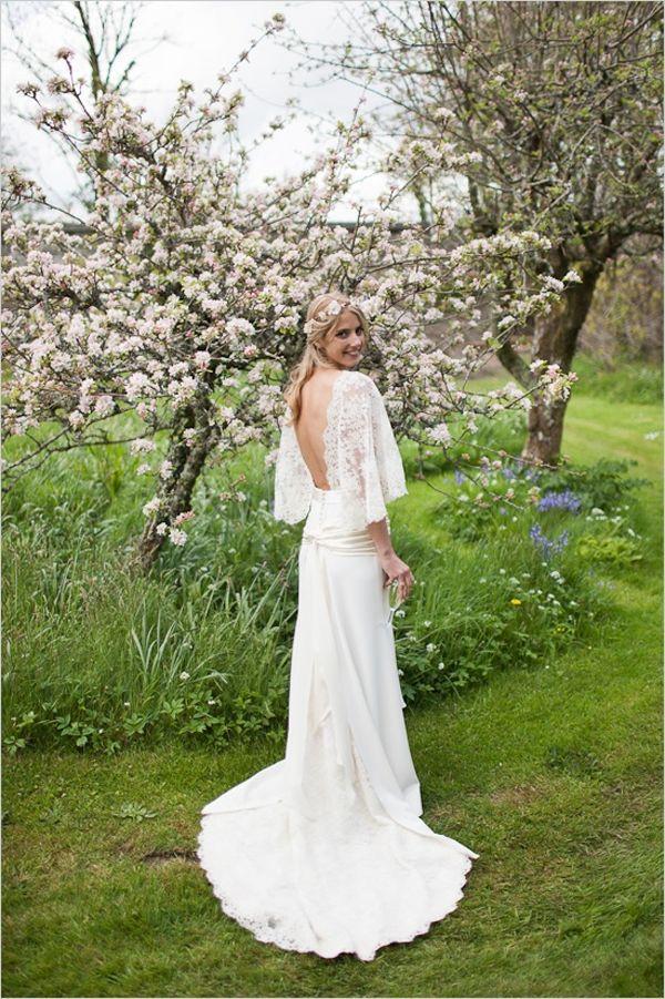 47 best images about boho wedding on pinterest wedding for Dolman sleeve wedding dress