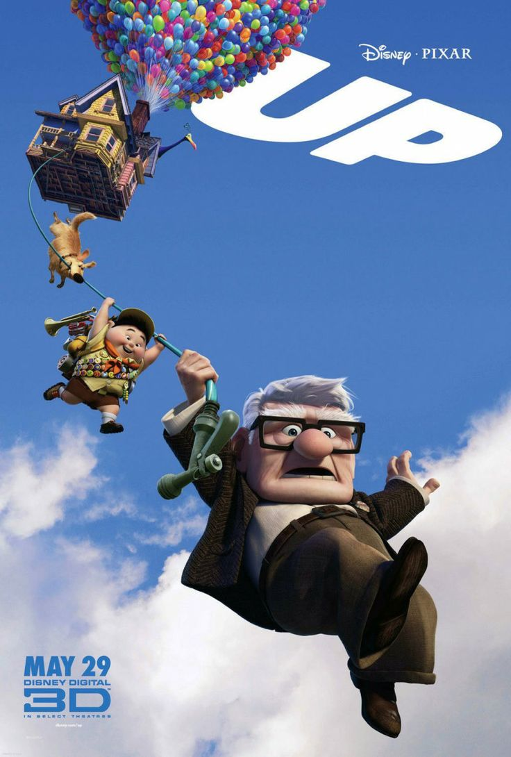 Pixar made me cry as soon as the movie started. Carl and Ellie's life together is what everyone hopes for and it's so sad when he loses her, but what an excellent adventure that ensues!