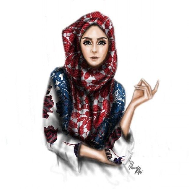 50 fashion illustrations by Shamek Bluwi | The Fashion Coffee