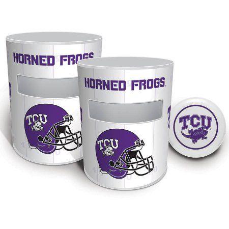 TCU Horned Frogs Kan Jam Game Set, White