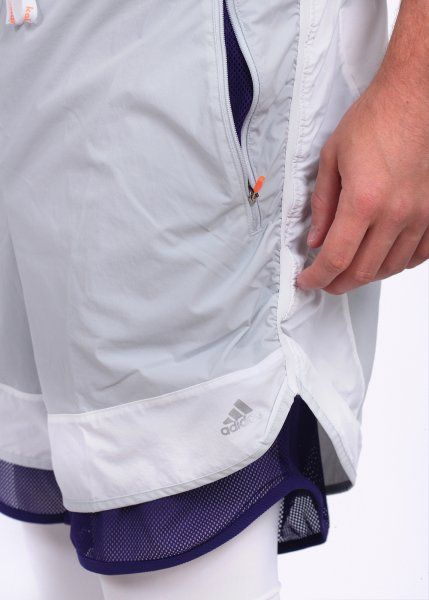 Adidas Originals Apparel 'Kolor Pack' Shorts - White / Grey / Purple - Adidas Originals Apparel from Triads UK