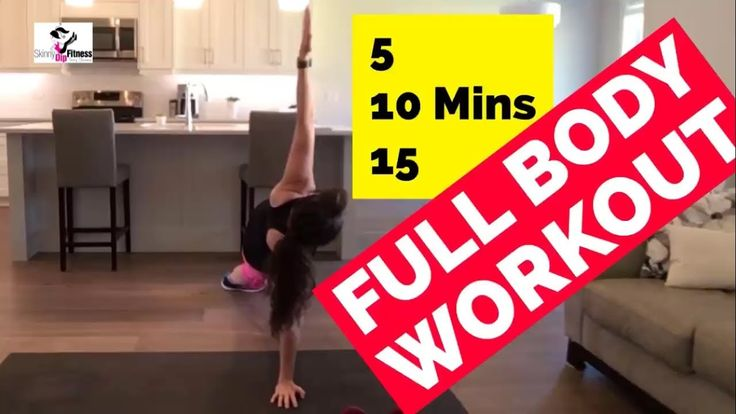Full Body Workout   Total Body Strength Training   How to Get a Toned Bo...