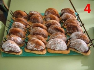 Caracoles Dulces Comestibles para el Otono para merendar