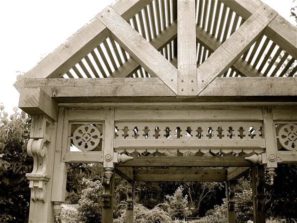 68 best victorian fretwork images on pinterest victorian for Architectural gingerbread trim