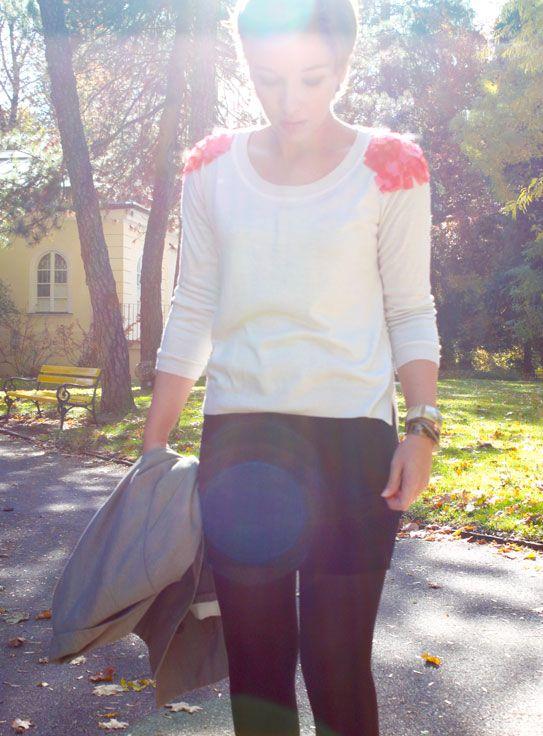 "diy ""jelly sweater"" via virginie peny (found via dollar store crafts) #diy #fashion #craft"