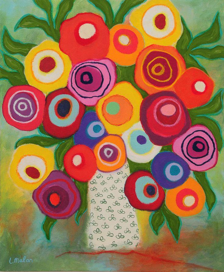 50cm x 60 cm Acrylic on canvas - Liesel Malan