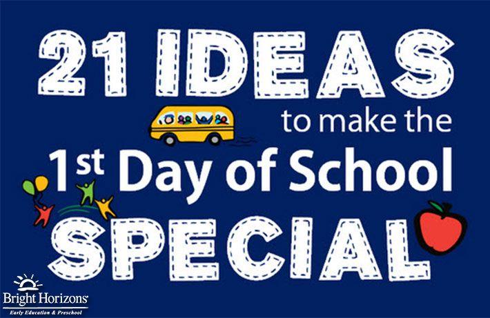 First Day of Kindergarten Ideas & School Traditions | Bright Horizons Blog