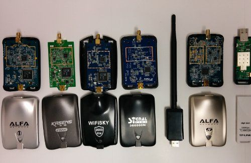 What is the best USB Adapter for WiFi Penetration testing? https://www.secpoint.com/wifi-usb-adapters-performance-test.html   #wifi #pentest #rtl8187l #ar9271 #Rt3070 #rt3572