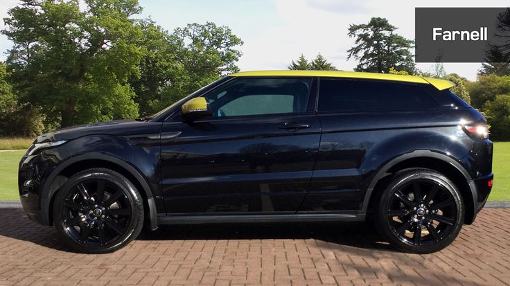 Used Land Rover Range Rover Evoque 2.2 Sd4 Special Edition 3Dr Auto Diesel Coupe for Sale | Farnell Land Rover