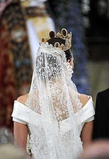 The Royal Order of Sartorial Splendor: Readers' Top 10 Wedding Gowns: #1. Crown Princess Victoria of Sweden