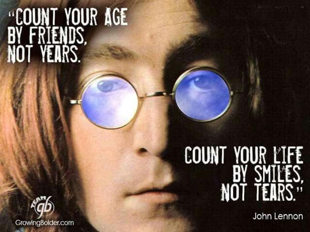 Celebrity Quotes : John Lennon quote