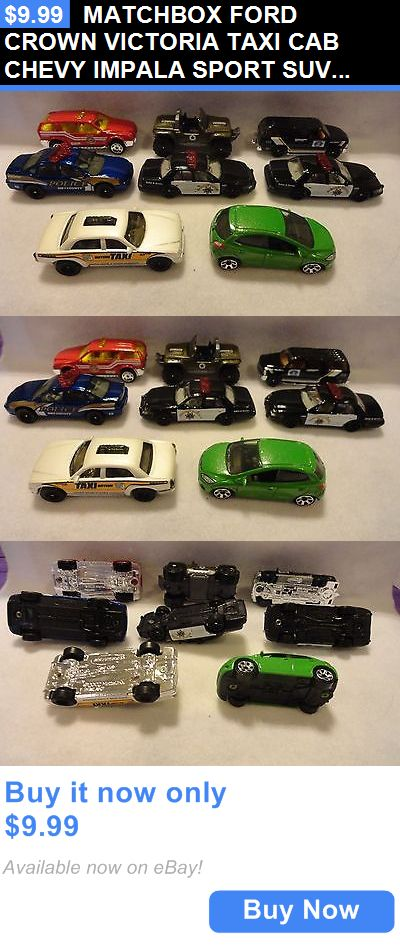 SUVs: Matchbox Ford Crown Victoria Taxi Cab Chevy Impala Sport Suv Lot Of 8 Mint BUY IT NOW ONLY: $9.99
