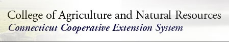 Connecticut Dept. of Agriculture Cooperative Extension Service