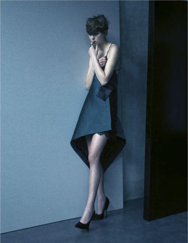 Anais Garnier By Toni Thorimbert For IO Donna May 2013 Neo-Borghese — Anne of Carversville