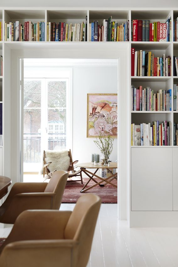 Possibility For Solving Book Storage Issue In Lounge Dining