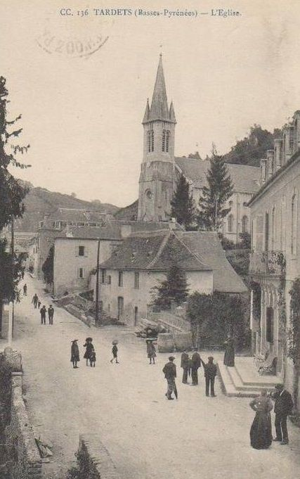 Tardets rue de l'Eglise