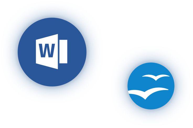 Vorlagen für Word und Open Office