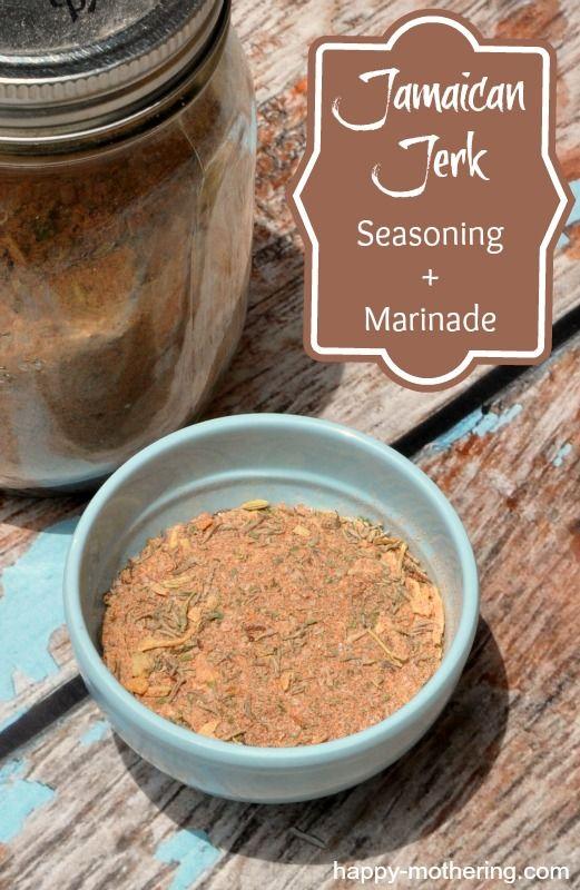 Jamaican Jerk Seasoning + Marinade Recipe